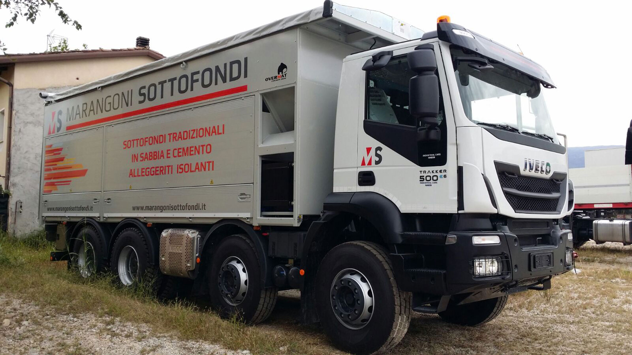 il nostro camion Overmat